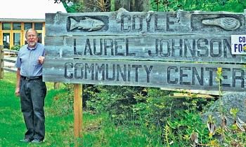 Norm Johnson is proud to host free concerts by visiting musicians every month at the Coyle Laurel B. Johnson Community Center. Photo by Viviann Kuehl